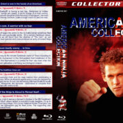 American Ninja Collection (5-disc) (1985-1993) R1 Custom Blu-Ray Cover