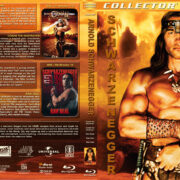 Arnold Schwazernegger Collection (5-disc) (1982-1988) R1 Custom Blu-Ray Cover