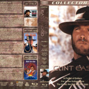 Clint Eastwood Collection – Volume 1 (1964-1968) R1 Custom Blu-Ray Cover