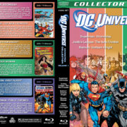 DC Universe Animated Collection - Volume 1 (2007-2009) R1 Custom Blu-Ray Cover