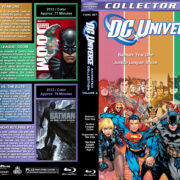 DC Universe Animated Collection - Volume 3 (2011-2012) R1 Custom Blu-Ray Cover