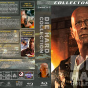 Die Hard Collection (5-disc) (1988-2013) R1 Custom Blu-Ray Cover