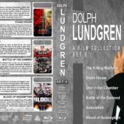 Dolph Lundgren Film Collection – Set 6 (2010-2013) R1 Custom Blu-Ray Cover