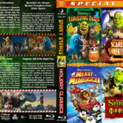 Dreamworks Spooky Holiday Classics (6-disc) (2012) R1 Custom Blu-Ray Cover