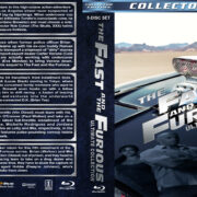 The Fast and the Furious Ultimate Collection (5-disc) (2001-2011) R1 Custom Blu-Ray Covers