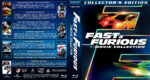 Fast & Furious 7-Movie Collection (2001-2015) R1 Custom Blu-Ray Covers