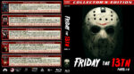 Friday the 13th, Parts I-V (1980-1985) R1 Custom Blu-Ray Cover