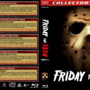 Friday the 13th, Parts VI-X (1986-2002) R1 Custom Blu-Ray Cover