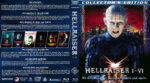 Hellraiser I-VI (1987-2002) R1 Custom Blu-Ray Covers