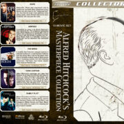 Alfred Hitchcock's Masterpiece Collection (10-disc) (1942-1976) R1 Custom Blu-Ray Cover