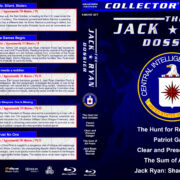 The Jack Ryan Dossier (5-disc) (1990-2014) R1 Custom Blu-Ray Cover