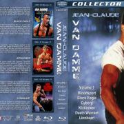 Jean Claude Van Damme – Volume 1 (1987-1990) R1 Custom Blu-Ray Cover