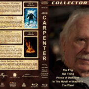 John Carpenter Collection (5-disc) (1980-2010) R1 Custom Blu-Ray Cover