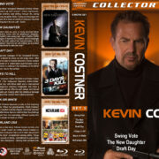 Kevin Costner Collection – Set 5 (2008-2015) R1 Custom Blu-Ray Cover