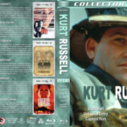 Kurt Russell Collection – Set 2 (1991-1996) R1 Custom Blu-Ray Cover