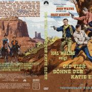 Die vier Söhne der Katie Elder (1965) R2 German Cover