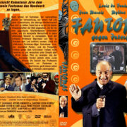 Fantomas gegen Interpol (1965) R2 German Custom Cover