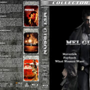 Mel Gibson Collection (1994-2012) R1 Custom Blu-Ray Cover