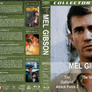 Mel Gibson Collection - Set 1 (1979-1984) R1 Custom Blu-Ray Cover