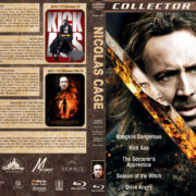 Nicolas Cage Collection (5-disc) (2008-2011) R1 Custom Blu-Ray Cover