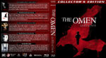The Omen Collection (5-disc) (2008) R1 Custom Blu-Ray Cover