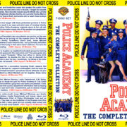 Police Academy: The Complete Collection (1984-1994) R1 Custom Blu-Ray Cover