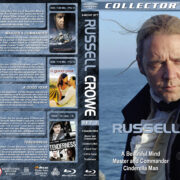 Russell Crowe Collection – Set 3 (2001-2009) R1 Custom Blu-Ray Cover