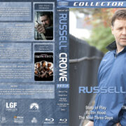 Russell Crowe Collection - Set 4 (2009-2014) R1 Custom Blu-Ray Cover