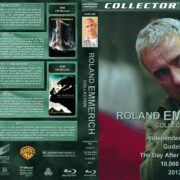 Roland Emmerich Collection (5-disc) (1996-2009) R1 Custom Blu-Ray Cover