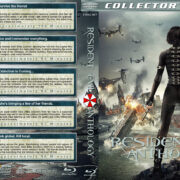 Resident Evil Anthology (2002-2012) R1 Custom Blu-Ray Cover
