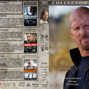 Steve Austin Collection - Volume 1 (2007-2011) R1 Custom Blu-Ray Cover