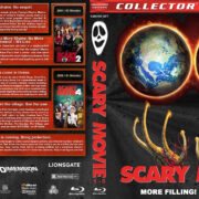 Scary Movie Collection (5-disc) (2000-2013) R1 Custom Blu-Ray Cover
