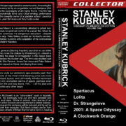 Stanley Kubrick: Visionary Filmmaker Collection – Volume 1 (1960-1971) R1 Custom Blu-Ray Cover