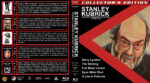 Stanley Kubrick: Visionary Filmmaker Collection – Volume 2 (1975-2001) R1 Custom Blu-Ray Cover