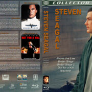 Steven Seagal Collection (5-disc) (1988-2010) R1 Custom Blu-Ray Cover