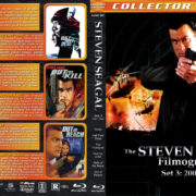 Steven Seagal Filmography - Set 3 (2001-2004) R1 Custom Blu-Ray Cover
