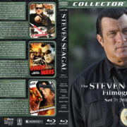 Steven Seagal Filmography – Set 7 (2010-2011) R1 Custom Blu-Ray Cover