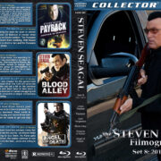 Steven Seagal Filmography – Set 8 (2011-2012) R1 Custom Blu-Ray Cover