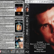Tom Cruise Collection (6-disc) (1988-2002) R1 Custom Blu-Ray Cover