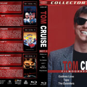 Tom Cruise Filmography – Set 1 (1981-1983) R1 Custom Blu-Ray Cover