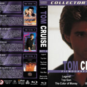 Tom Cruise Filmography – Set 2 (1986-1989) R1 Custom Blu-Ray Cover