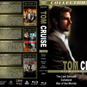 Tom Cruise Filmography – Set 5 (2003-2008) R1 Custom Blu-Ray Cover
