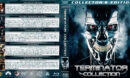 Terminator Collection (5-disc) (1984-2015) R1 Custom Blu-Ray Cover