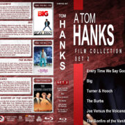 A Tom Hanks Film Collection – Set 2 (1980-1990) R1 Custom Blu-Ray Cover