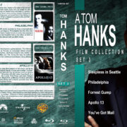 A Tom Hanks Film Collection – Set 3 (1993-1998) R1 Custom Blu-Ray Cover