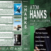 A Tom Hanks Film Collection – Set 5 (2004-2013) R1 Custom Blu-Ray Cover