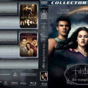 Twilight: The Complete Saga (2008-2012) R1 Custom Blu-Ray Cover