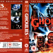 Ghoulies (1985) R2 Blu-Ray Cover & Label