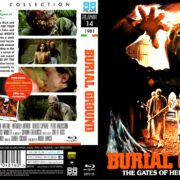 Burial Ground (1981) R2 Blu-Ray Cover & Label