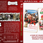 The 12 Dogs of Christmas Double Feature (2008-2012) R1 Custom Cover